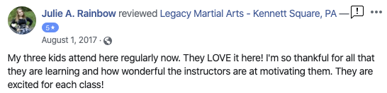 Screen Shot 2020 04 23 At 4.56.09 PM, Legacy Martial Arts in  Kennett, PA