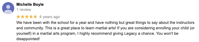 Screen Shot 2020 04 23 At 4.57.39 PM, Legacy Martial Arts in  Kennett, PA